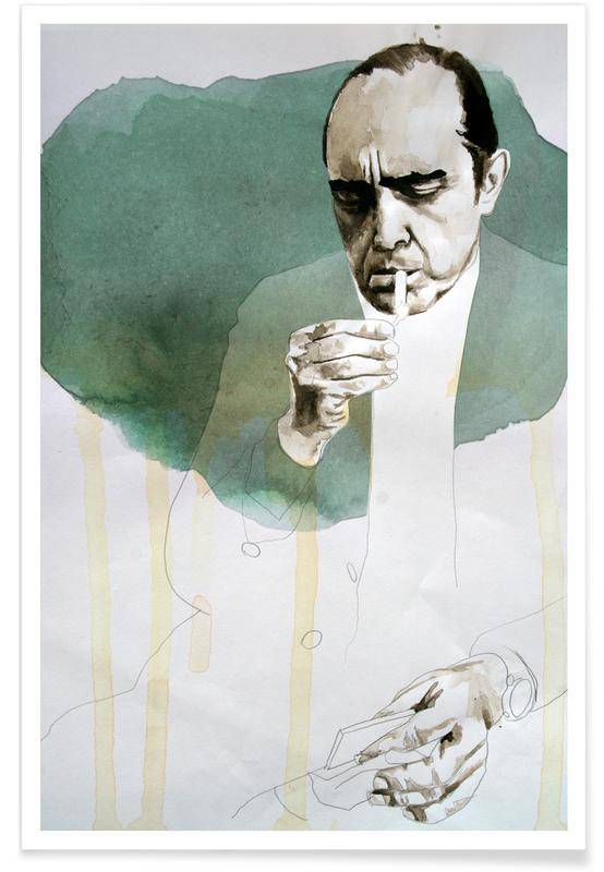 Oscar Niemeyer -Poster
