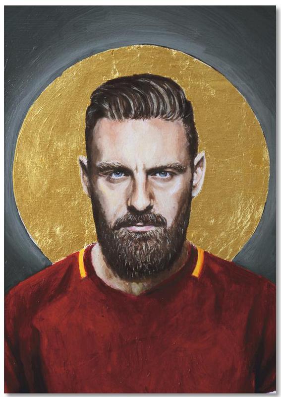 Daniele Derossi Football Icon Ohnelogo -Notizblock