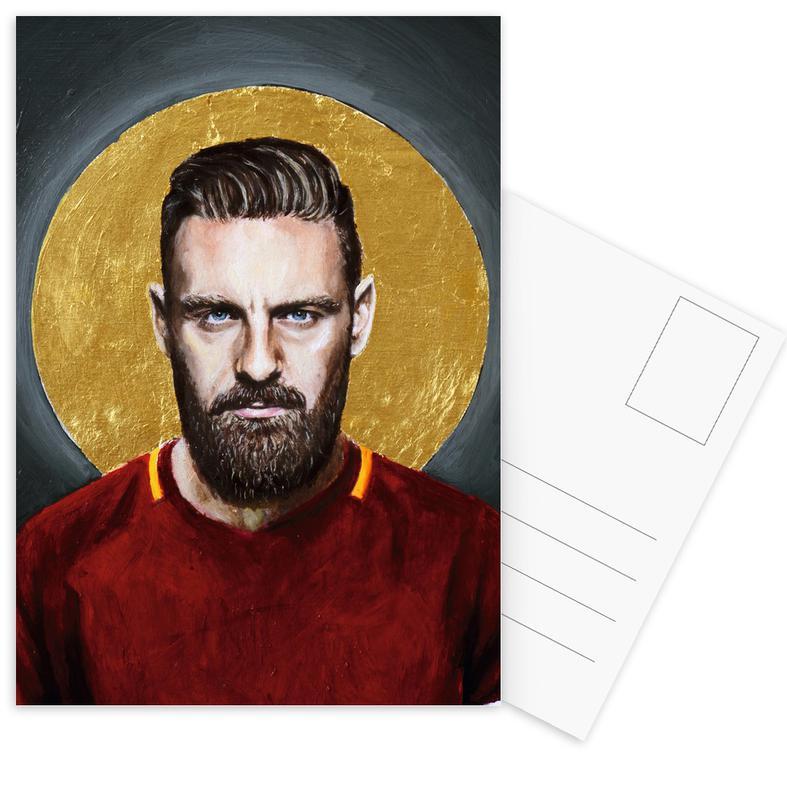 Daniele Derossi Football Icon Ohnelogo cartes postales