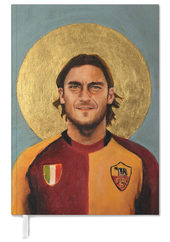 Football Icon - Totti Personal Planner