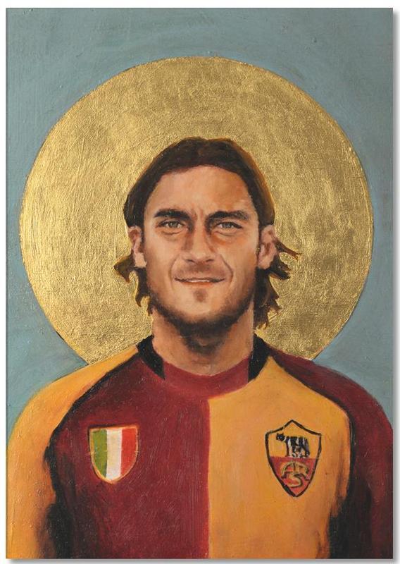 Football, Football Icon - Totti Notepad