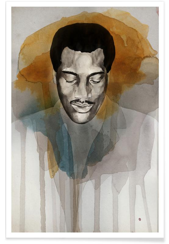 Otis Redding Poster