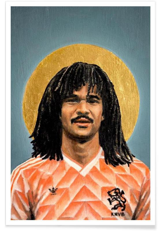 Voetbal, Football Icon - Ruud Gullit poster