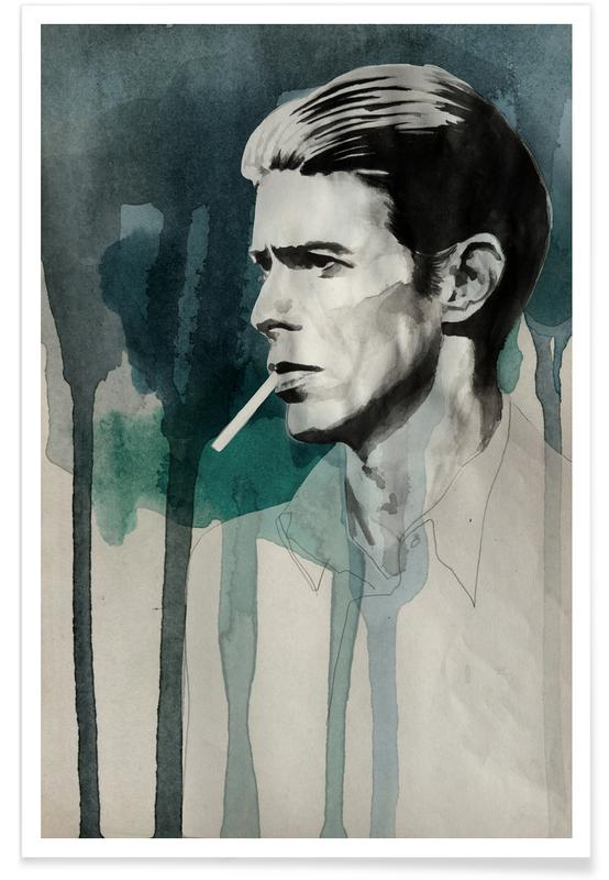 David Bowie, Portraits, David Bowie Poster