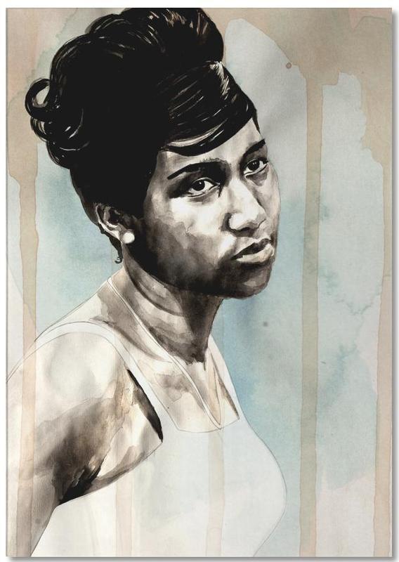 Portraits, Aretha Franklin Notepad