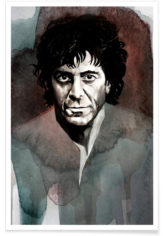 Portraits, Lou Reed Poster