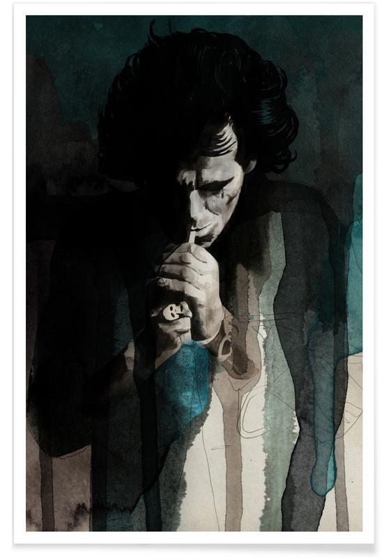 Portraits, Keith Richards Poster