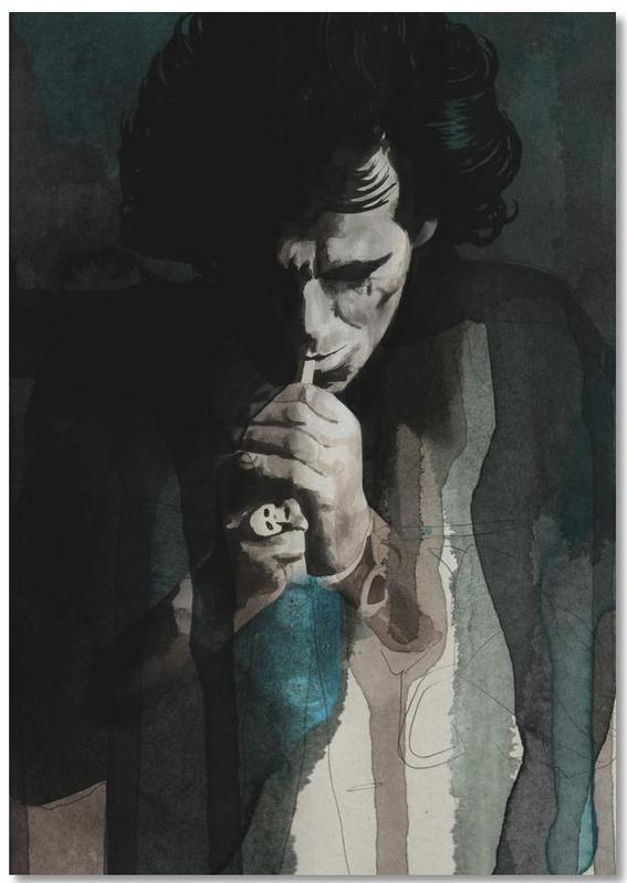 Portraits, Keith Richards Notepad