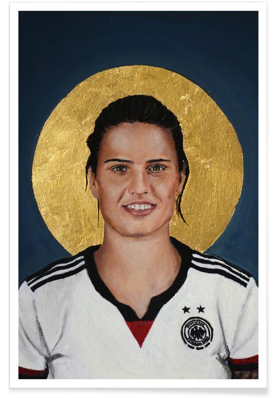 , Football Icon - Dzsenifer Marozsán affiche
