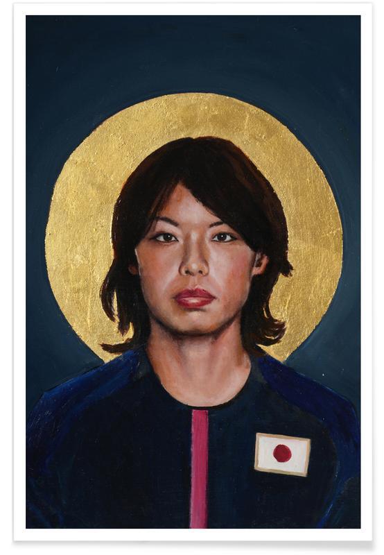 , Football Icon - Saki Kumagai affiche