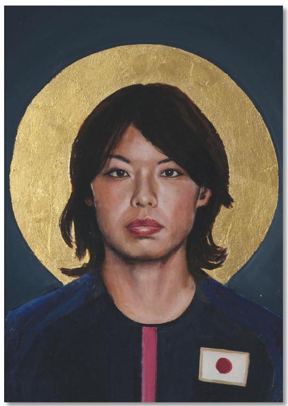 , Football Icon - Saki Kumagai Notepad