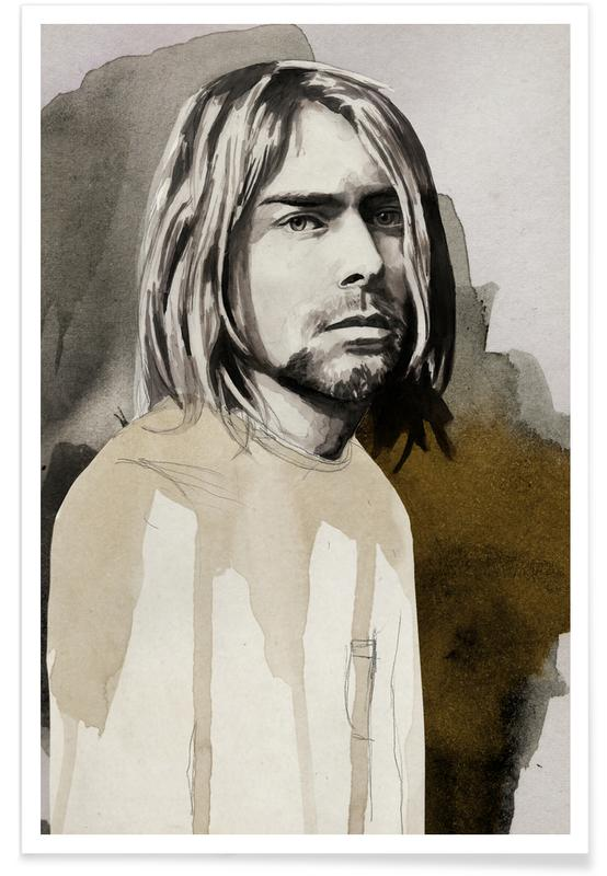 Rock, Kurt Cobain affiche