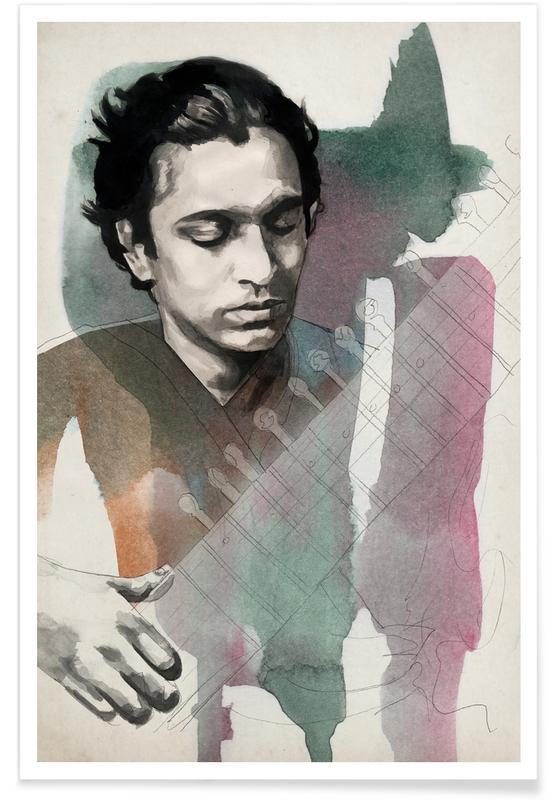 , Ravi Shankar Poster