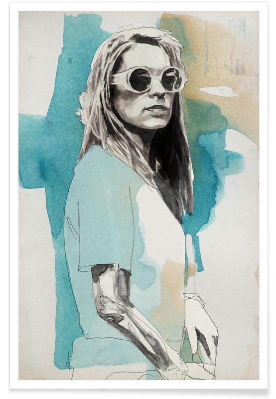 Rock, Kim Gordon -Poster