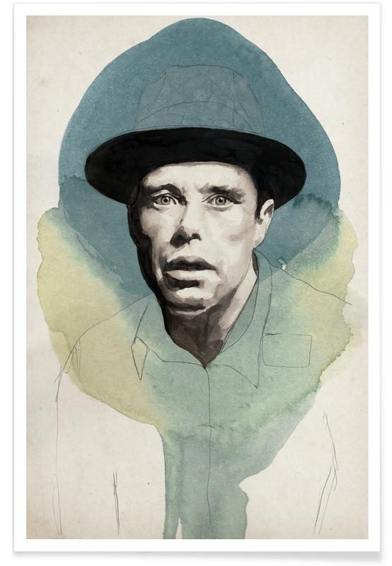 Politische Figuren, Joseph Beuys -Poster