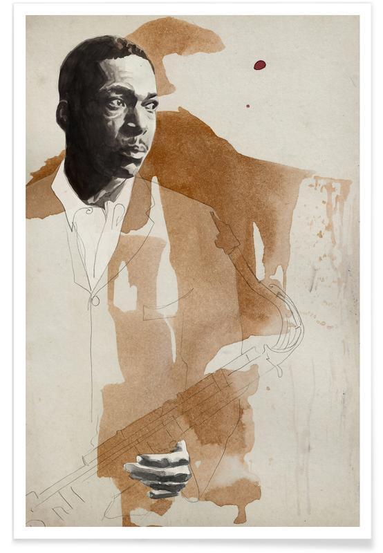Jazz, John Coltrane Poster