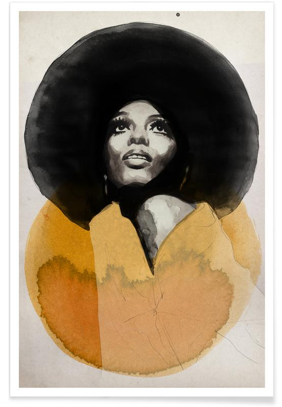 , Diana Ross poster