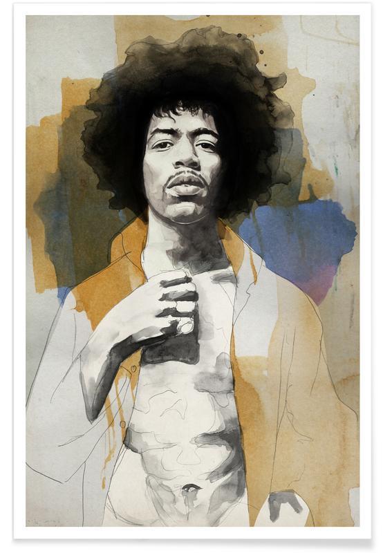 , Jimi Hendrix -Poster
