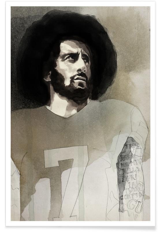 Politische Figuren, Colin Kaepernick -Poster