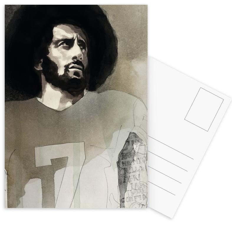Politieke figuren, Colin Kaepernick ansichtkaartenset