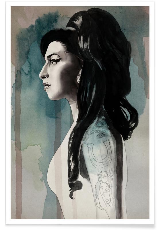 Amy Winehouse, Amy Winehouse affiche