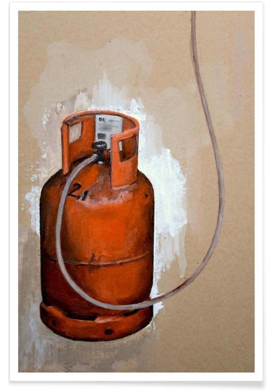 Velo Grablje - Gas Bottle -Poster