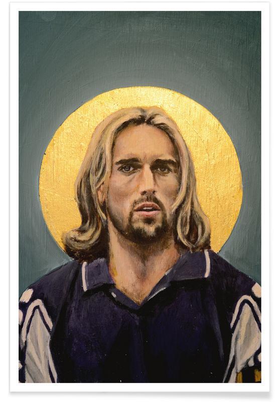 Football Icon - Gabriel Omar Batistuta -Poster