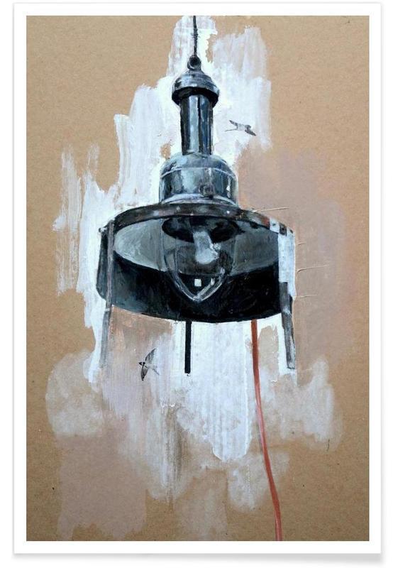 Street Art Style, Velo Grablje - Gas Lamp Poster