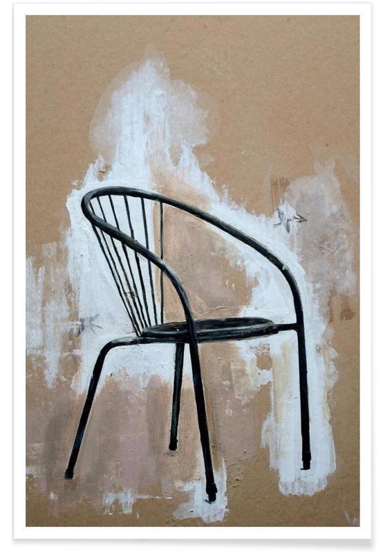 Street Art, Velo Grablje - Chair -Poster