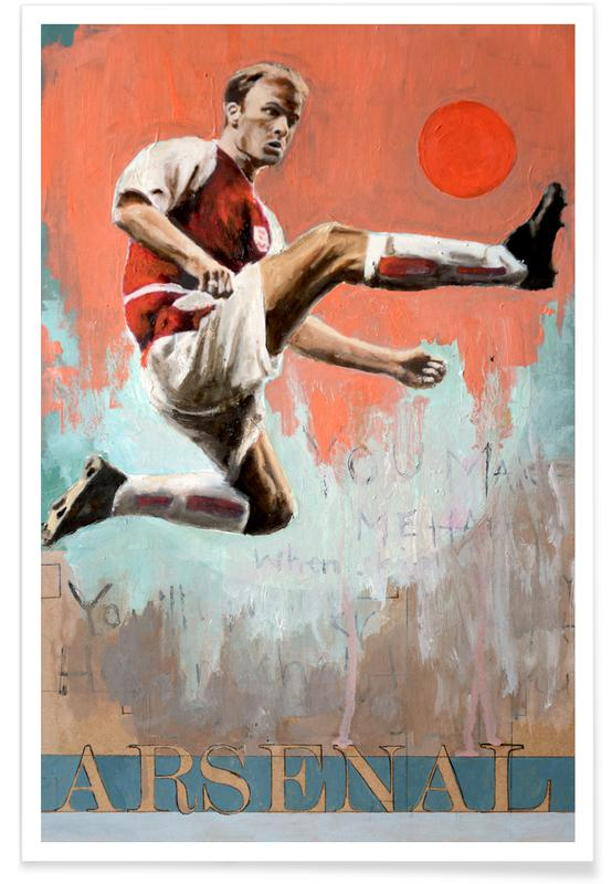 Voetbal, One Love Arsenal poster