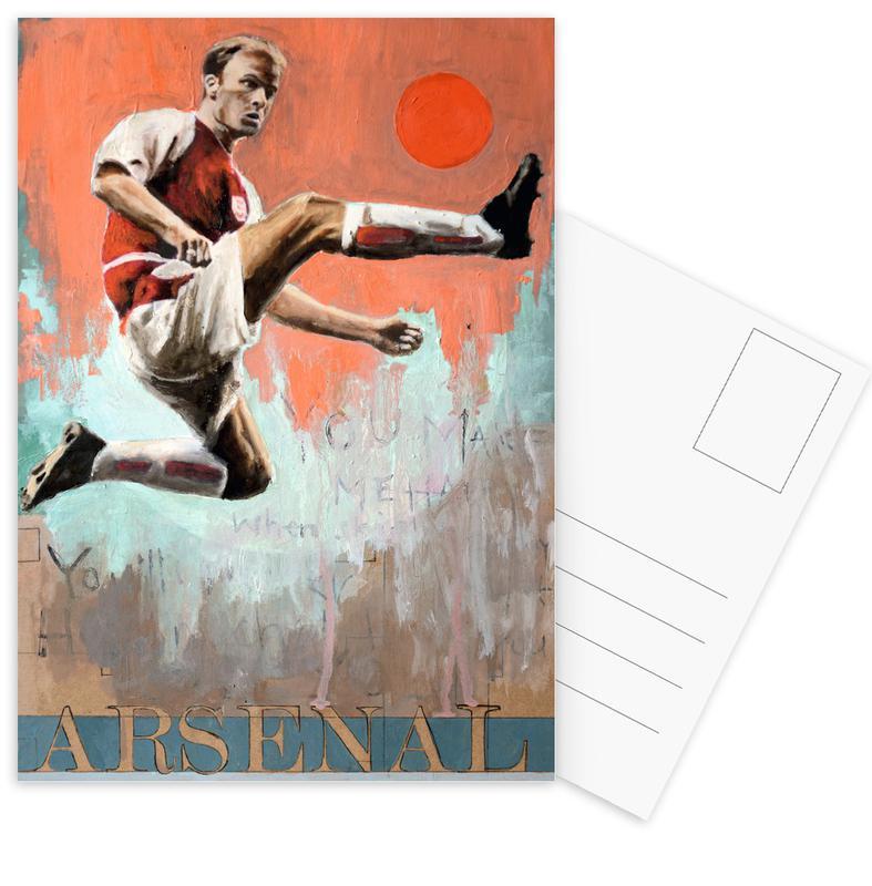 Football, One Love Arsenal Postcard Set