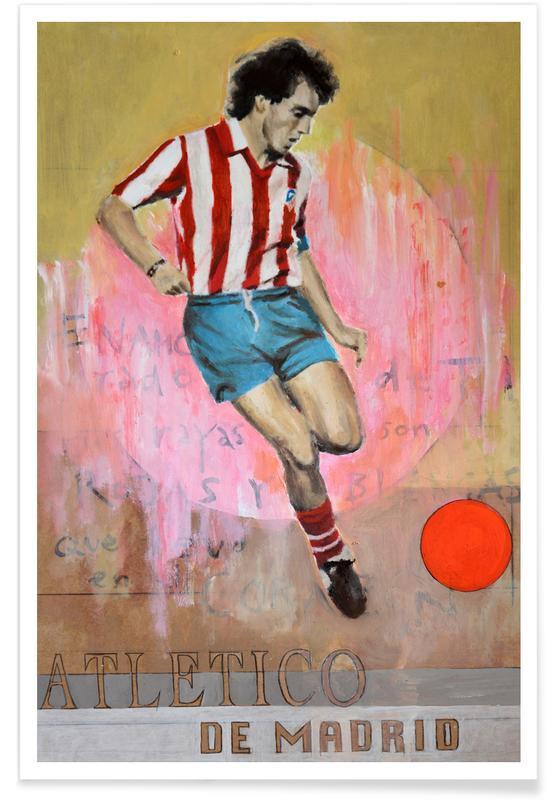 One Love - Atletico de Madrid -Poster