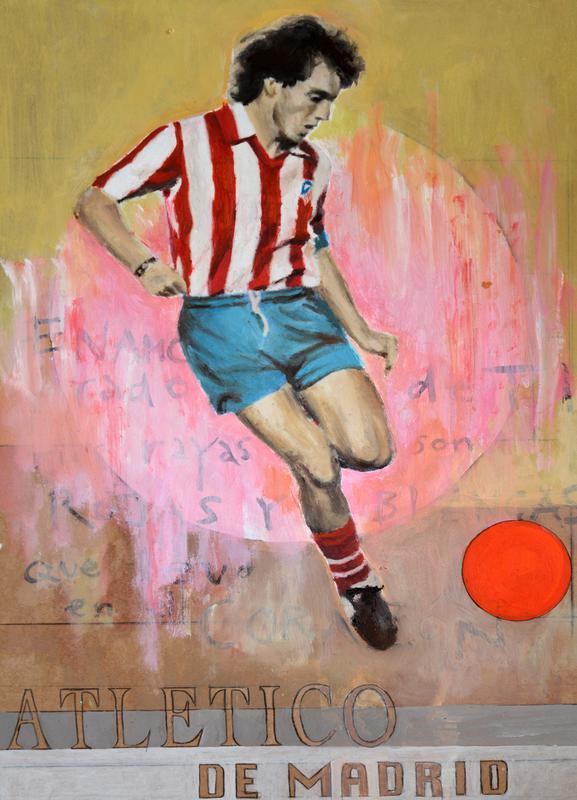 One Love - Atletico de Madrid Canvas Print