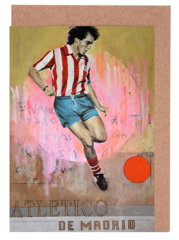Madrid, Football, One Love - Atletico de Madrid cartes de vœux