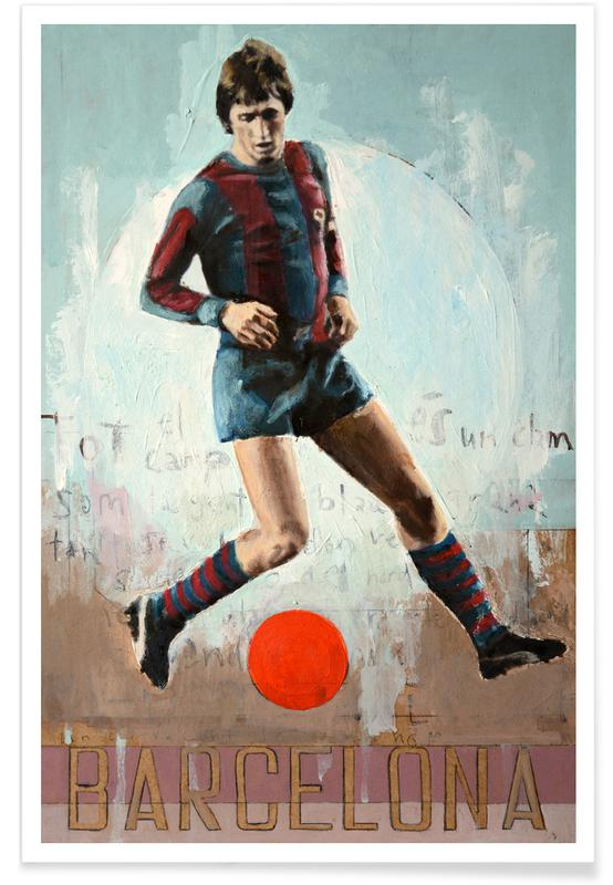 Football, One Love Barca Poster