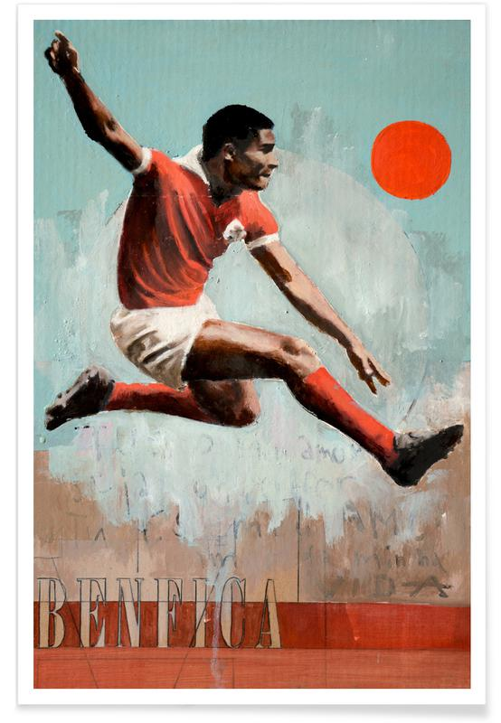 Lisbonne, Football, One Love Benfica affiche