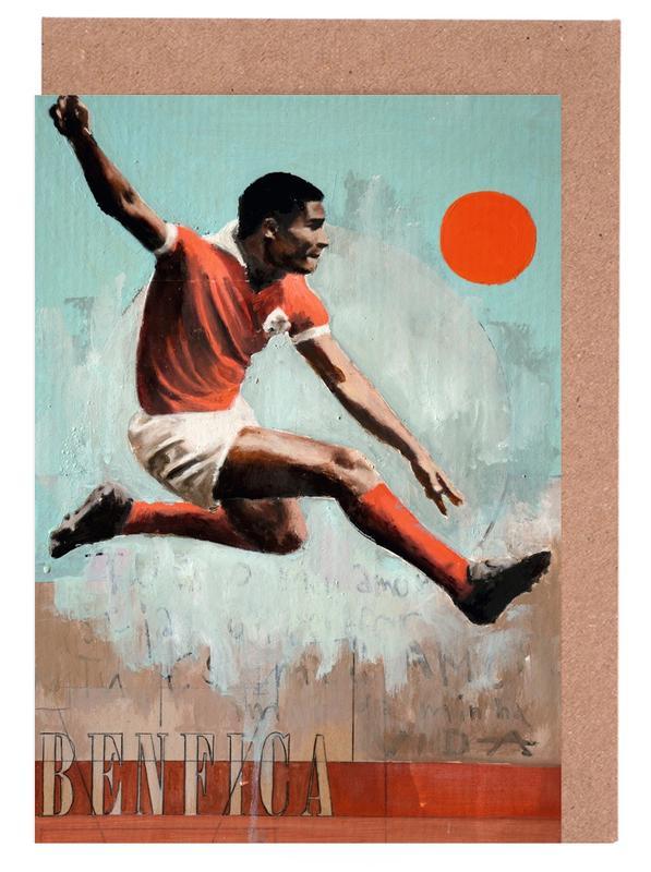 Lisbonne, Football, One Love Benfica cartes de vœux