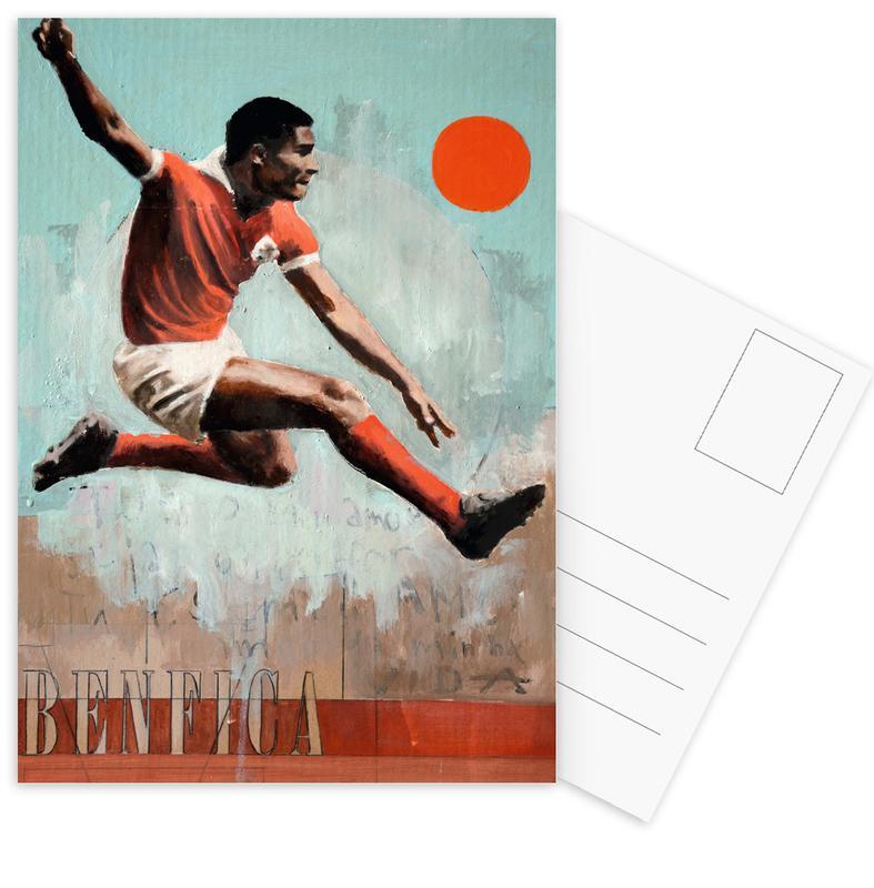 Lisbonne, Football, One Love Benfica cartes postales