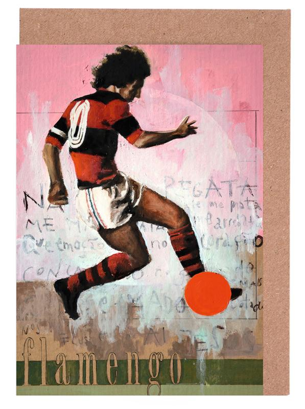 One Love Flamengo Greeting Card Set