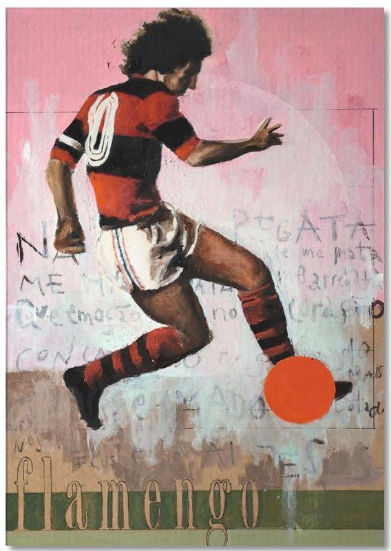 Football, Rio de Janeiro, One Love Flamengo Notepad