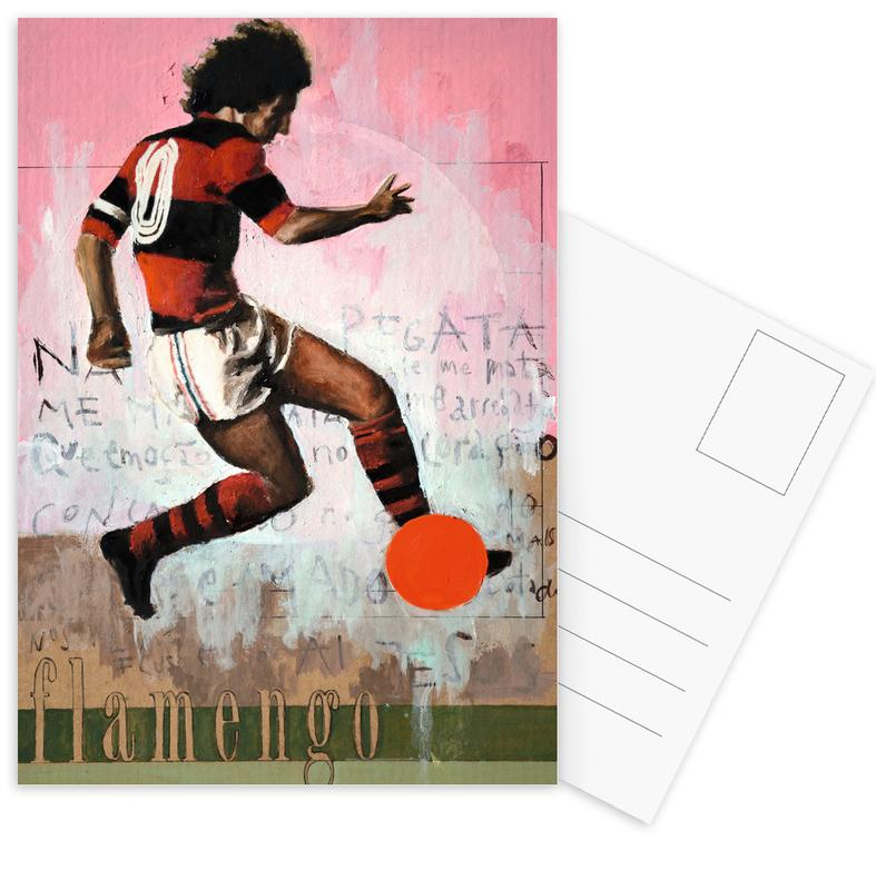 Football, Rio de Janeiro, One Love Flamengo cartes postales
