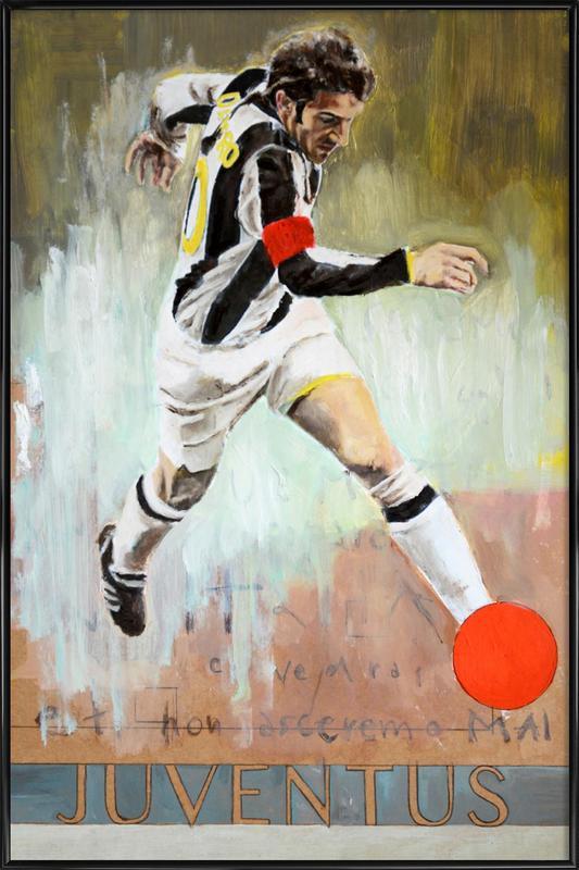 One Love - Juventus Framed Poster