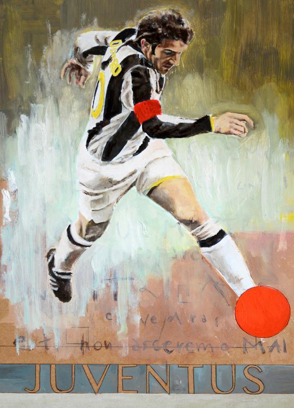 One Love - Juventus Canvas Print
