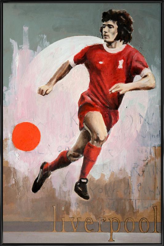 One Love Liverpool ingelijste poster