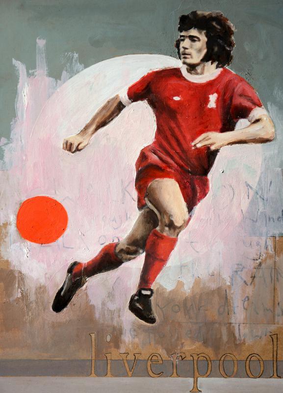 One Love Liverpool -Leinwandbild
