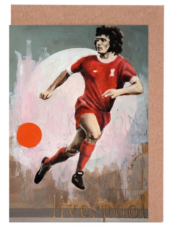 Football, One Love Liverpool cartes de vœux