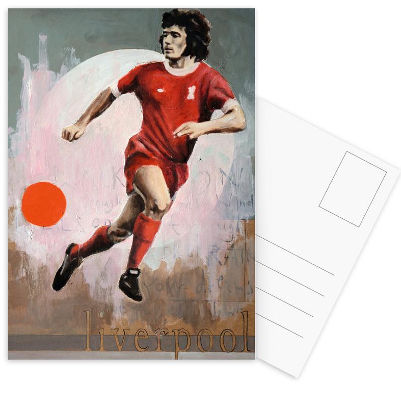 Football, One Love Liverpool Postcard Set