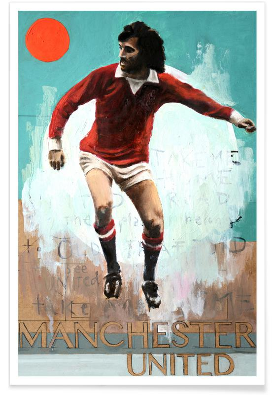 Football, One Love - Manchester United Poster