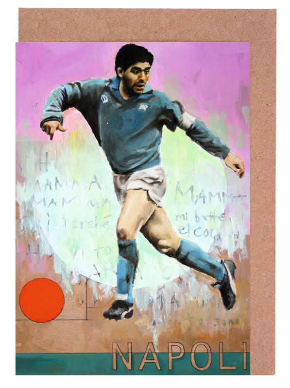 Football, One Love Napoli cartes de vœux