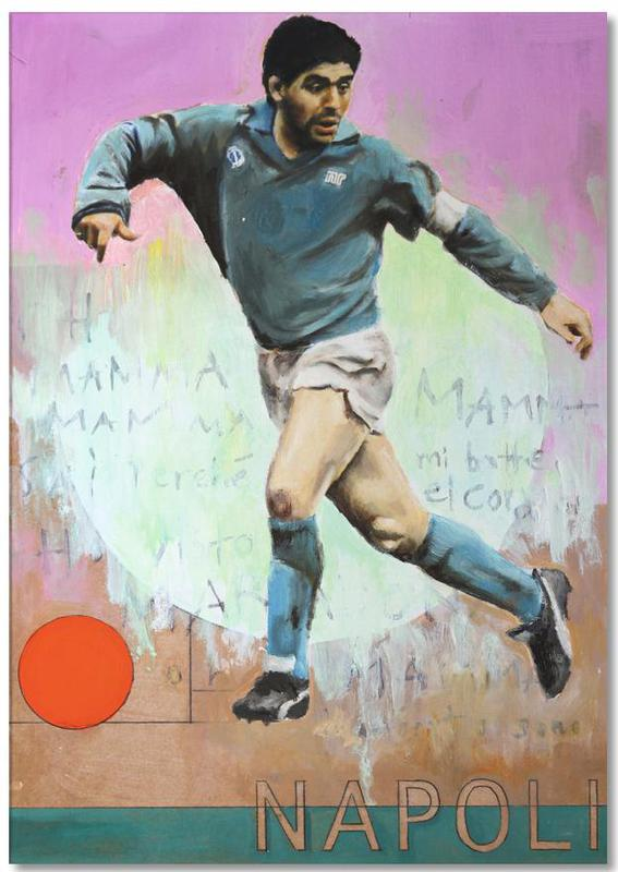 Football, One Love Napoli Notepad